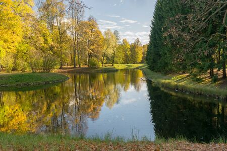 catherine: The Catherine Park of the Museum-reserve Tsarskoye Selo in Russia