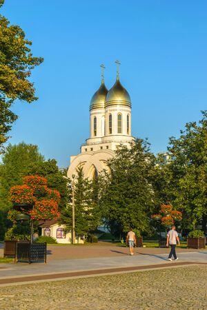 RUSSIA, KALININGRAD, - August, 2016: Kaliningrad. Cathedral of Christ the Savior