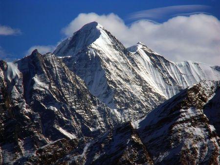 Trishul, Mountain peak, Garhwal, Himalayas Stock Photo - 6459024