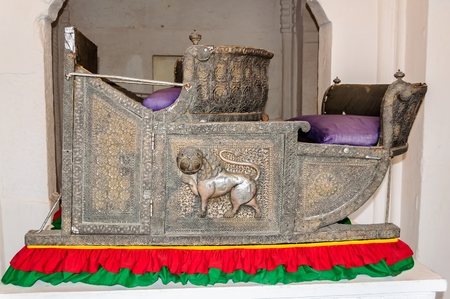royals: Seats called Hawdas used by royals on top of Elephants while travelling