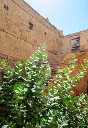 Dilapidated and broken house inside Golden Fort of Jaisalmer, Rajasthan India