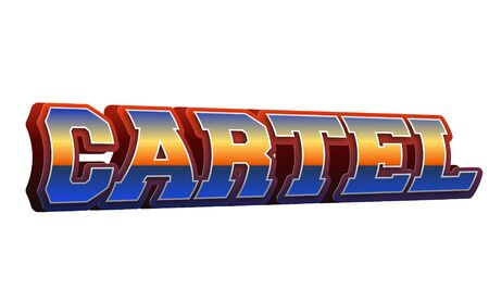 Carter Text for Title or Headline. In 3D Fancy Fun and Futuristic style