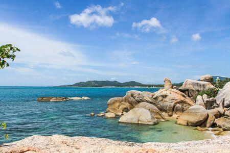 pene: Hin Ta es una piedra que se parece a un pene. En Koh Samui, Tailandia