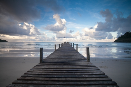 tropical beach in Koh Kood , Thailand photo