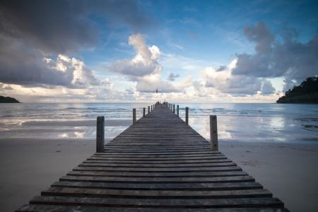 tropischen Strand in Koh Kood, Thailand