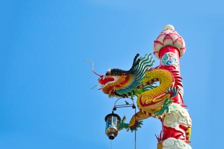 Chinese style dragon  photo