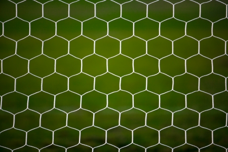 Soccer goal net photo
