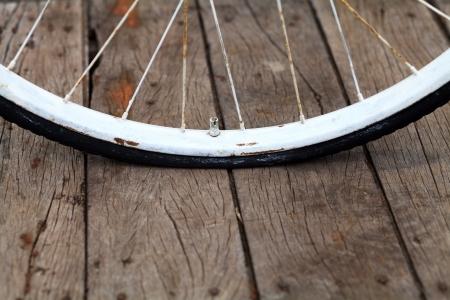 Gebrochene Fahrrad-Rad