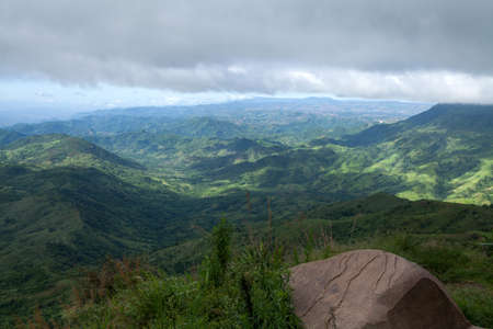 wasatch: Beautiful mountain scenery in Thailand