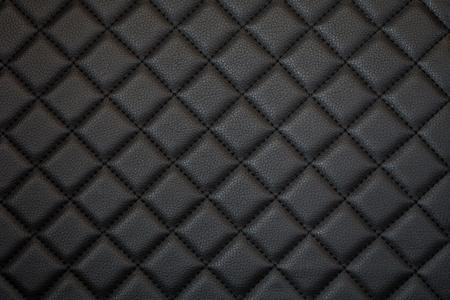 black leather texture of sofa closeup shot photo