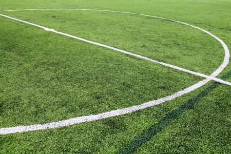 Soccer field grass photo