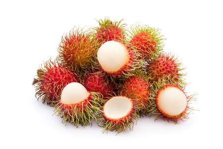 Fresh rambutan  photo