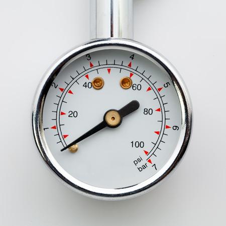 Tire-pressure gauge photo