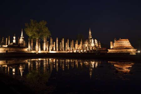 historical reflections: Reflections, Sukhothai Historical Park