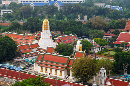 Wat Phar Sri Rattana Mahathat. Temple, Phitsanulok in Thailand Foto de archivo