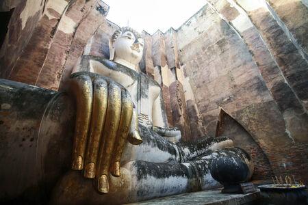 Phra Achana in Wat Si Chum at Sukhothai Historical park, Thailand, photo