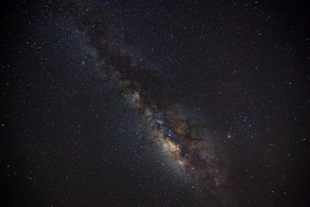 milkyway: beautiful milkyway on a night sky Stock Photo