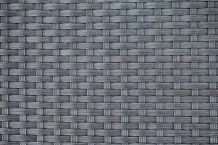 nylon: textured surface of interlaced nylon strings Stock Photo