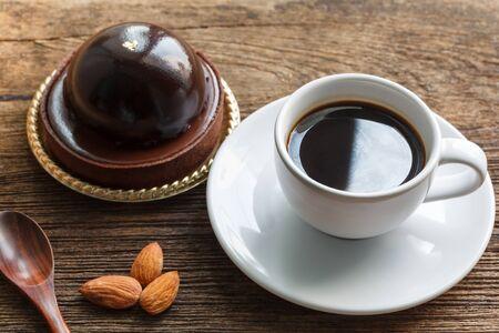 gateau chocolat: Coffee and chocolate cake