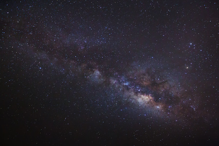 vulpecula: Milky Way galaxy, Long exposure photograph