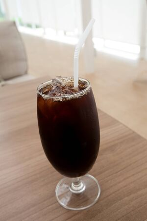 americano: Ice coffee americano