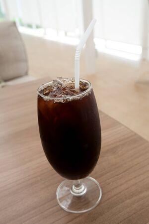 americano: Ice coffee americano