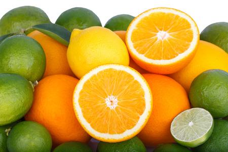 Mix von frischen Zitrusfrüchten