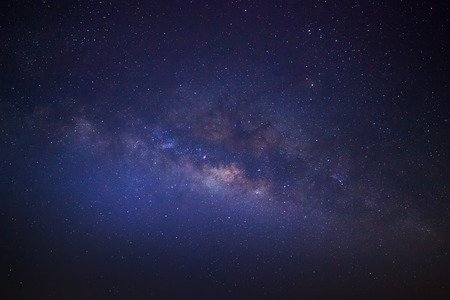 The center of the milky way galaxy, Long exposure photograph Standard-Bild