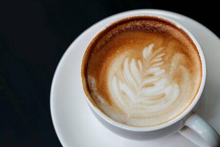 Eine Tasse Kaffee Latte