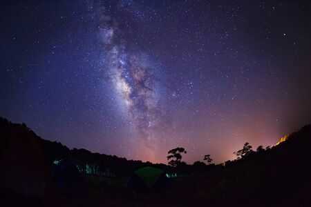 vulpecula: milky way, Long exposure photograph, with grain