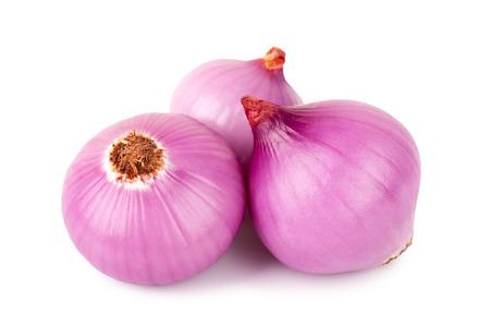onion: bulbo de la cebolla roja sobre fondo blanco Foto de archivo