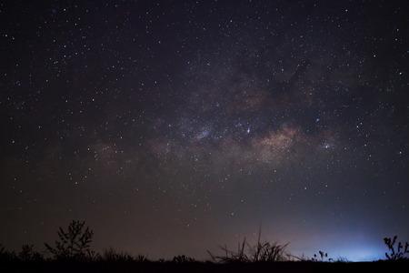 vulpecula: Milky Way galaxy, Long exposure photograph