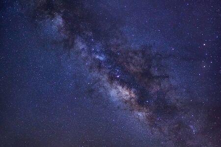 天の川銀河、長時間露光写真は、粒