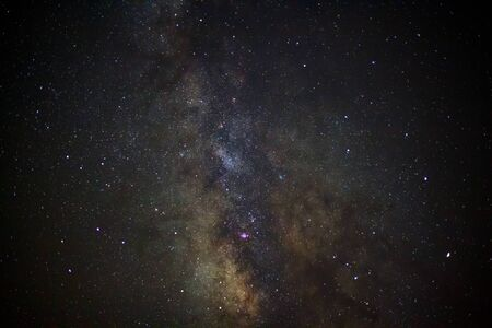 vulpecula: Close-up of Milky Way Galaxy,Long exposure photograph, with grain?