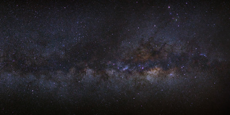 vulpecula: panorama milky way galaxy Stock Photo