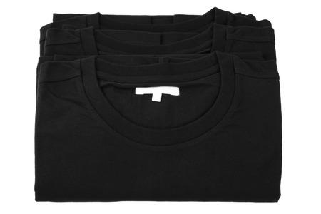 black T-shirt Stock Photo