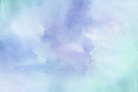 Abstract colorful hand draw water color background Imagens
