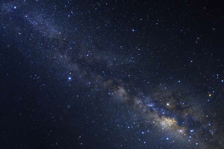 atmosphere: Clearly milky way galaxy with stars and space dust in the universe