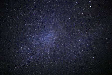 milky way galaxy with stars and space dust in the universe Stockfoto