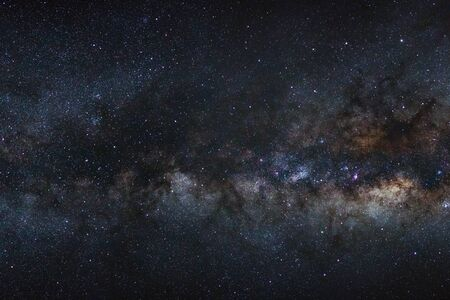 milky way galaxy with stars and space dust in the universe 写真素材