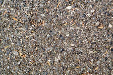 asphalt: Asphalt concrete road