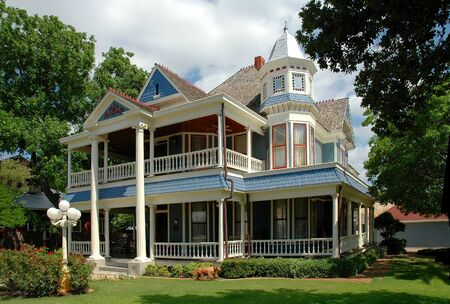 Historical House In Granbury, Texas