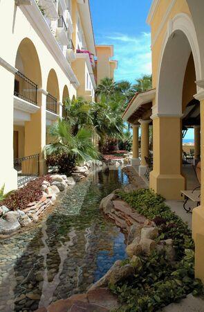 cabo: Garden view at a Resort in Cabo San Lucas, Mexico