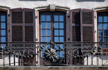 French Balcony Banco de Imagens