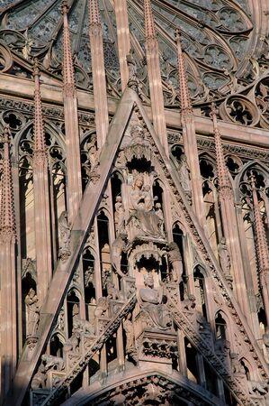 Modanna とストラスブール大聖堂の子