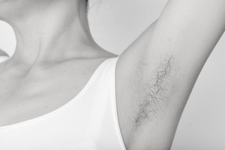 armpits and Hairy of women Banque d'images