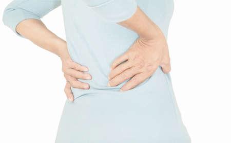 lumbago pain in old women