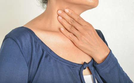 tonsillitis Sore throat and symptoms Imagens