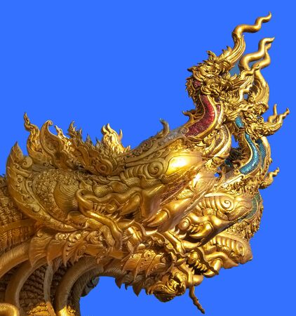dragon head: Three golden dragon head
