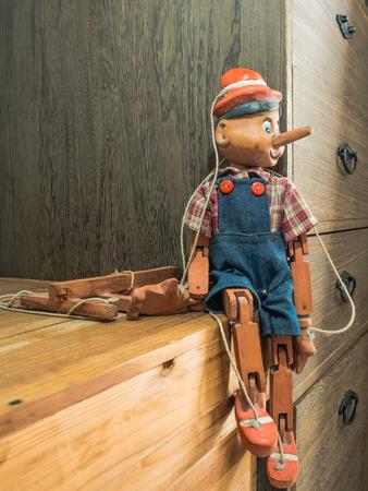 pinocchio: Pinocchio puppet